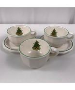 Pfaltzgraff Heritage 3 Coffee Cups Mugs 2 Saucers USA - $14.80