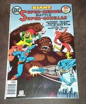 Super Heroes Battle Super Gorillas Comic #1 1976 DC Comics Batman Superm... - $5.00