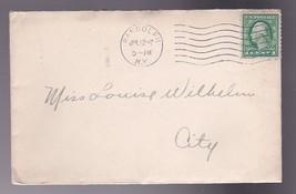 Randolph New York July 12 1917 With Recital Invitation - $3.98