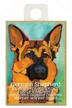 German Shepherd Confident Fearless Dog Fridge Kitchen Magnet NEW 2.5x3.5... - $5.86