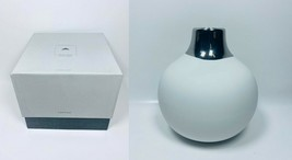 LOT OF 2 Dauville Bud Vase - Platinum Wide Top Top - Glazed - $49.49