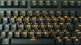Micronics X40 Mechanical Gaming Keyboard English Korean Jixian Optical (Black) image 4