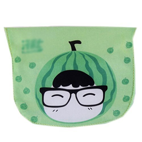 2 Cute Watermelon Baby Cotton Gauze Towels Wipe Sweat Absorbent Cloth Mat Towels
