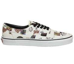 Vans Unisex ERA ATCQ A Tribe Called Quest White Skate Shoes Mens 10 Wome... - £69.25 GBP