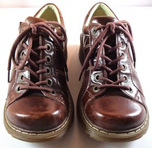 Dr. Martens Brown Leather Bailey Oxfords Womens Lace Up Shoes Size 8 UK 6 - $69.25