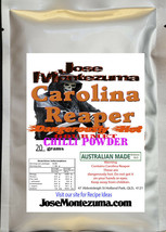 Gourmet  Fresh Ground Carolina Reaper Chili Powder 20gram  chilli - $13.89