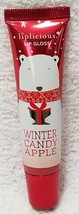 Bath Body Works WINTER CANDY APPLE Liplicious Lip Gloss .47 oz/14mL New ... - $16.82
