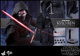 New Hot Toys Star Wars: The Force Awakens Kylo Ren 1/6th Scale PVC From ... - $296.99