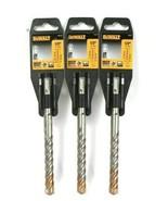 """3 Count DeWalt DW5537 1/2"""" High Impact Carbide SDS Plus 2X Longer Life  - $31.99"""