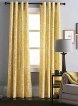 "1 Threshold Yellow Paisley Gully Grommet Window Panel Curtain  95"" - $24.29"