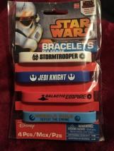 Package Of Four Star Wars Bracelets. - $24.38