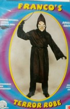 Black Terror Robe Costume - Standard - Chest Size 1 so fits most - $13.46
