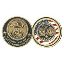 "ARMY NAVY JOINT BASE LITTLE CREEK FORT STORY 1.75"" CHALLENGE COIN - $18.04"