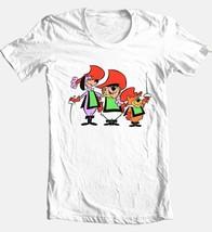 Three Musketeers T-shirt retro 80's Saturday morning cartoons cotton white tee image 2