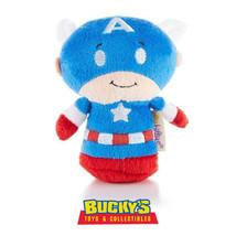 CAPTAIN AMERICA Hallmark itty bitty bittys Plush  Marvel Avengers Superhero - $11.87