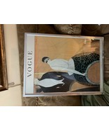 Vogue Conde Nast Late July 1920 Art Deco Fashion Magazine Poster Framed - $141.08