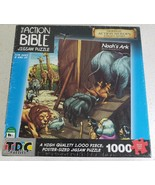 Jigsaw puzzle Biblical Noah's Ark 1000 piece Made in the USA New Sealed - $24.66