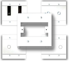SmartPlate, Wall Plate, Switch Plate for Smart Switches, 2 Gang Electric... - $15.68