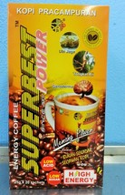 Super Best High Energy Power Coffee Natural Herbs Tongkat Ali Strongman Drink - $43.50
