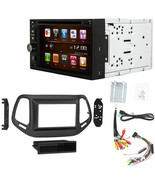 GPS Navigation DVD Multimedia Radio and Dash Kit for Jeep Compass 2017 a... - $395.99