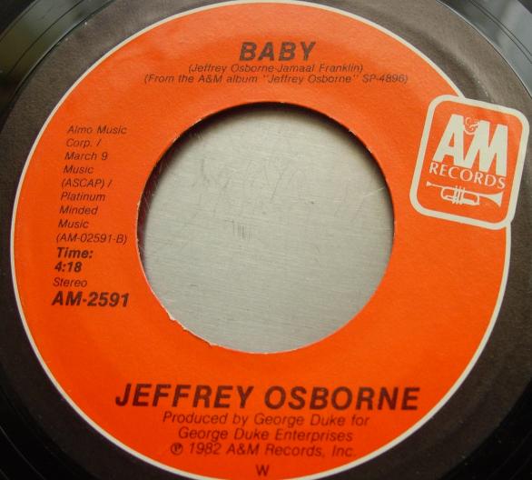 Jeffrey Osborne - Stay With Me Tonight / Baby - AM2591
