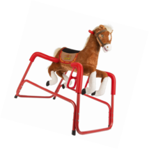 Rockin' Rider Lucky Talking Plush Spring Horse - $106.14