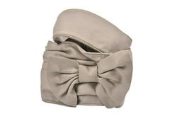 Pinko Womens Bows ODXA03 Belt Special Occasion Grey Size L - $44.53
