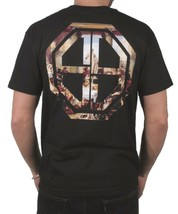 Clsc Herren Orgie Klassisch Schwarz Antike ROM Grafik Aufdruck T-Shirt