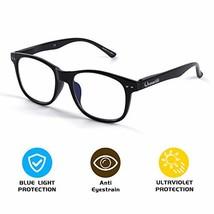 FONHCOO Blue Light Blocking Glasses Women Men Computer Reading Glasses Anti Eyes image 1