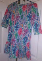 Lilly Pulitzer Let Minnow Rare Hard To Find  Girls Sz Xl 12-14  Dress - $38.12