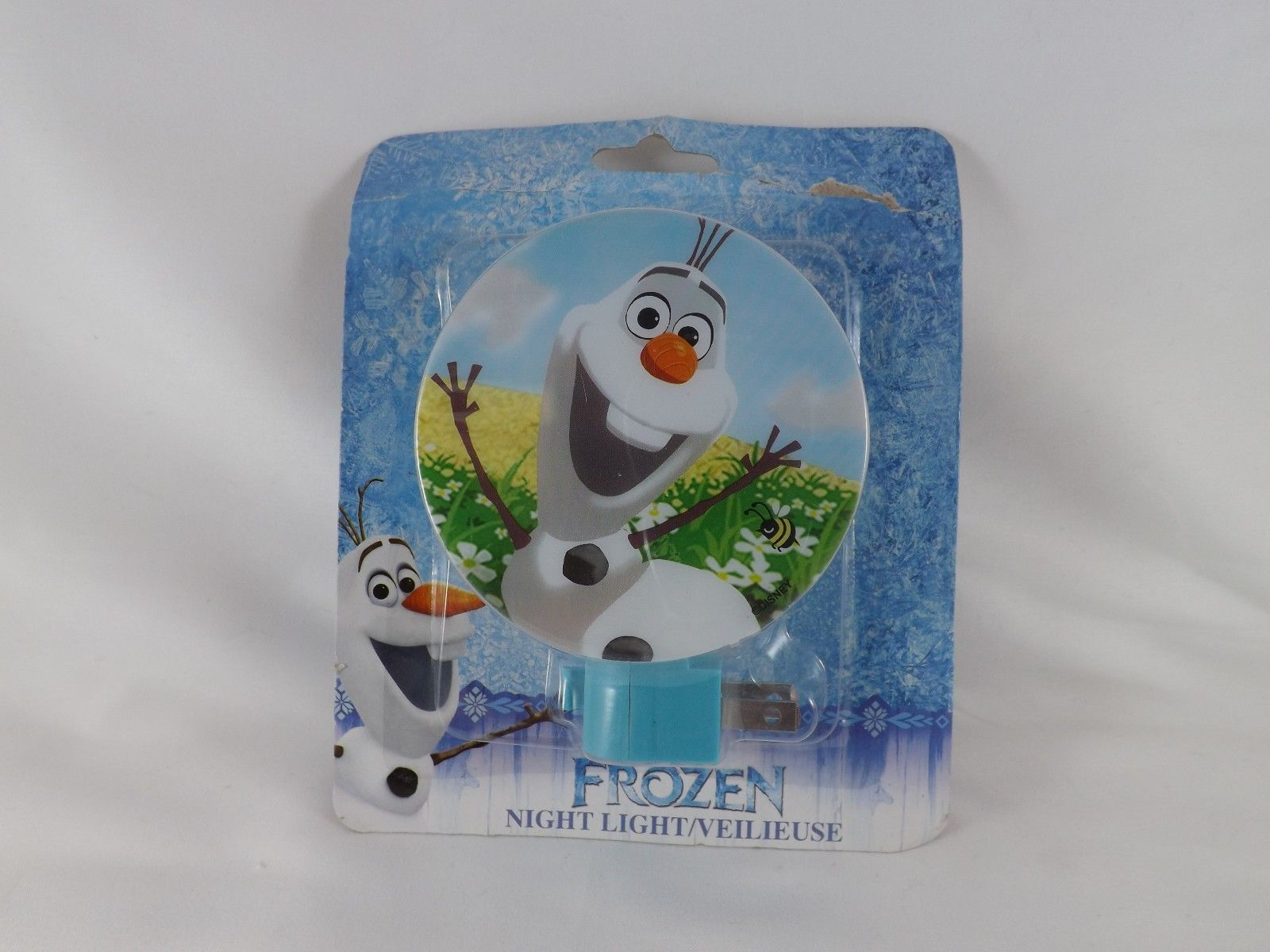 Disney Frozen Night Light with On/Off Switch - New - Olaf