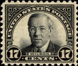 1931 17c Woodrow Wilson, Black Scott 697 Mint F/VF NH - $8.99