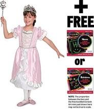 Princess: Role Play Costume + Melissa & Doug Scratch Art Mini-Pad Bundle [47852] - $28.46
