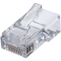 IDEAL 85-371 CAT-5E Feed-Thru RJ45 Mod Plugs (50 pk) - $42.03