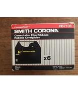 Smith Corona 6 Pack Correctable Film Ribbons #H67108 (Brand New) USA 210... - $21.61