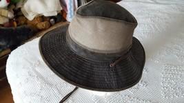 "DPC DORFMAN PACIFIC BOONIE MESH RUSTIC BROWN HAT, SZ M, 21""HEAD, FISHING... - $19.79"