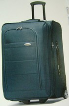 51bac8ecf145 SAMSONITE  quot PERIMETER quot  UPRIGHT EXPANDABLE WHEELED 4 PC LUGGAGE SET  TEAL ...