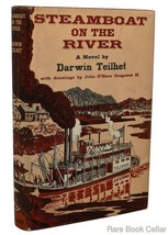Teilhet, Darwin STEAMBOAT ON THE RIVER Book Club Edition - $39.95