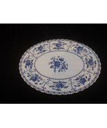 "Vintage Johnson Brothers Indies Ironstone England Oval Serving Plate 12""... - $17.50"