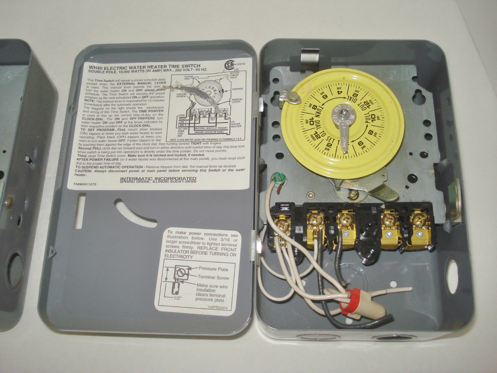 2004 mazda b2300 fuse box diagram lil gray box diagram set of 2 intermatic wh40 electric water heater timer ...