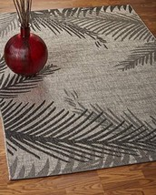 LR Home CAPTI81016BEL7995 Captiva Shaded Palms Indoor/Outdoor Area Rug, ... - $181.22