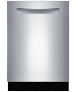 Bosch SHPM65Z55N 500 Series 24 Inch Fully Integrated Dishwasher Stainles... - $593.95