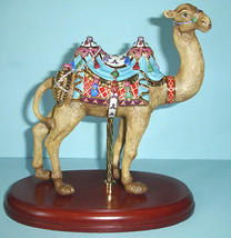 Lenox CAROUSEL CAMEL Hand painted Sculpture Limited Edition New In Box - $265.90