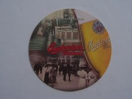 Budweiser Budvar Beer Coaster Czech Republic Premium  Brewery - $7.91