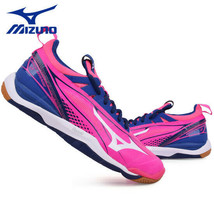 Mizuno Wave MIRAGE 2 Handball Shoes Badminton Shoes Indoor Pink X1GB175001 - $80.01
