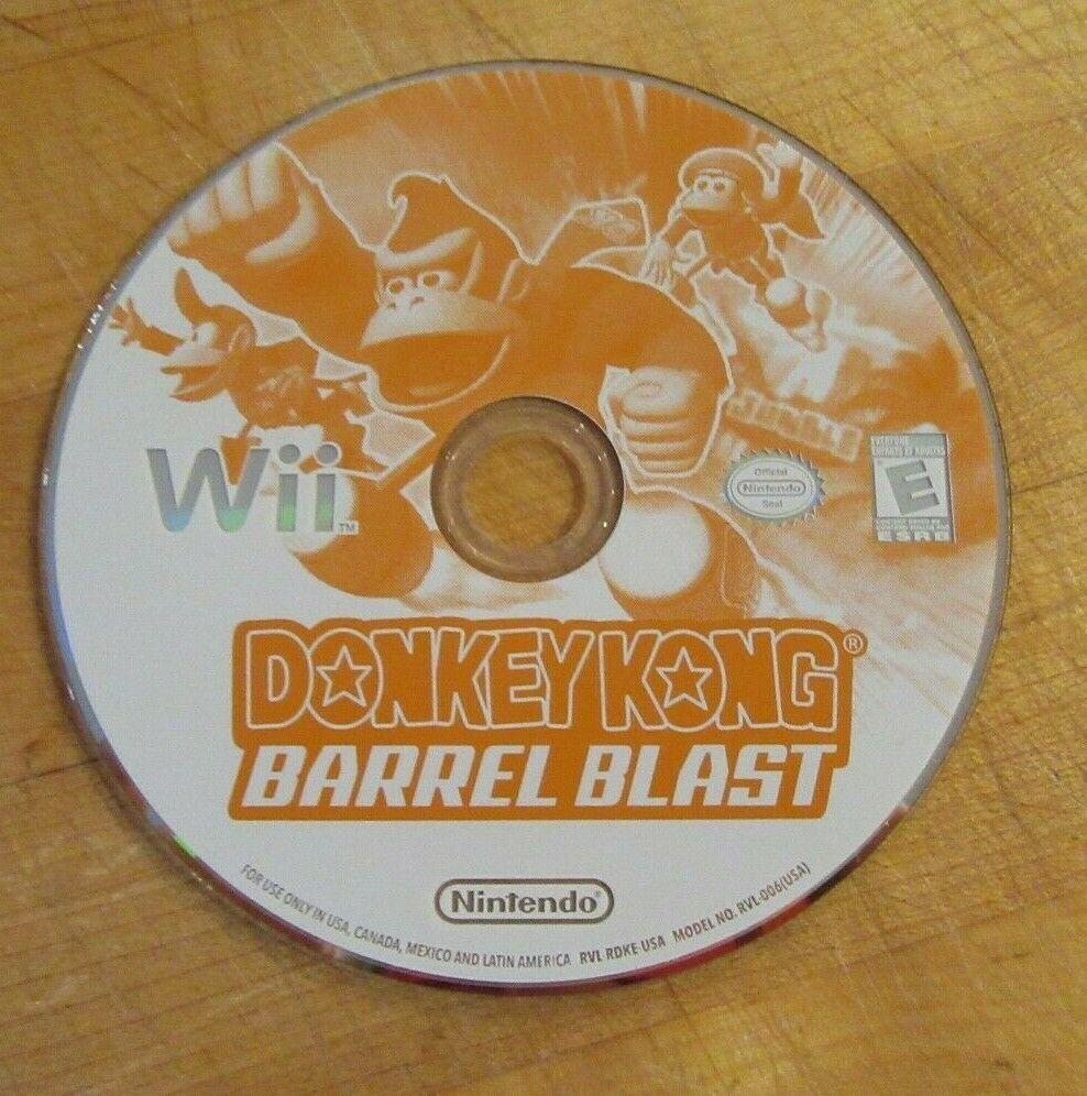 Donkey Kong Barrel Blast (Nintendo Wii, 2007)