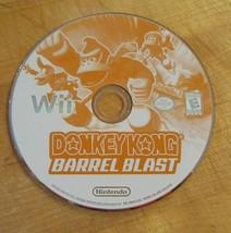 Donkey Kong Barrel Blast (Nintendo Wii, 2007) - $10.93