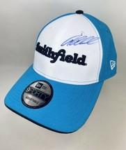 Aric Armirola Smithfield #43 Petty Blue Autographed Hat New Era NASCAR OSFA - $24.74