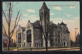 Antique Vintage Postcard Trenton High School, Trenton N.J. 1915 - $4.94