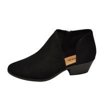 Soda RISK-S Black Women's Cut Out Perforated Ankle Booties - $23.95